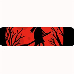 Halloween witch - red moon Large Bar Mats