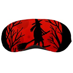 Halloween witch - red moon Sleeping Masks