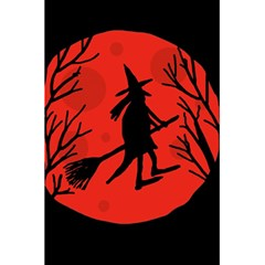 Halloween witch - red moon 5.5  x 8.5  Notebooks