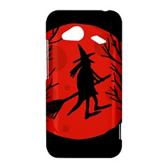 Halloween witch - red moon HTC Droid Incredible 4G LTE Hardshell Case