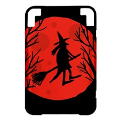 Halloween witch - red moon Kindle 3 Keyboard 3G