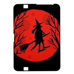 Halloween witch - red moon Kindle Fire HD 8.9