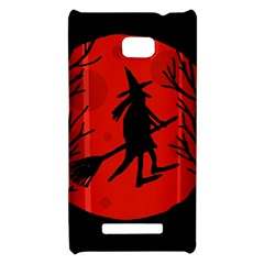 Halloween witch - red moon HTC 8X