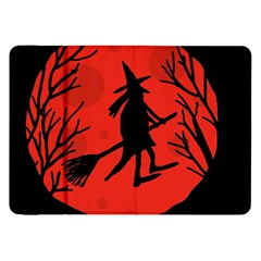 Halloween witch - red moon Samsung Galaxy Tab 8.9  P7300 Flip Case