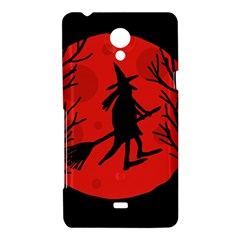 Halloween witch - red moon Sony Xperia T
