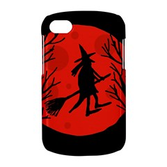Halloween witch - red moon BlackBerry Q10