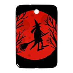 Halloween witch - red moon Samsung Galaxy Note 8.0 N5100 Hardshell Case