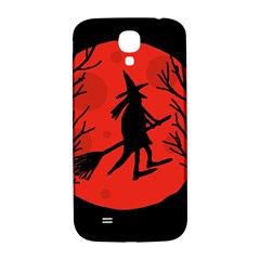 Halloween witch - red moon Samsung Galaxy S4 I9500/I9505  Hardshell Back Case