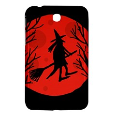 Halloween witch - red moon Samsung Galaxy Tab 3 (7 ) P3200 Hardshell Case