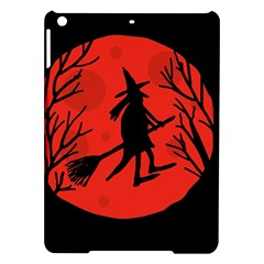 Halloween witch - red moon iPad Air Hardshell Cases