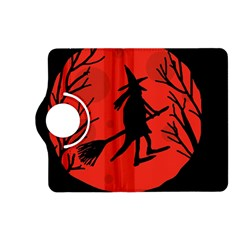 Halloween witch - red moon Kindle Fire HD (2013) Flip 360 Case
