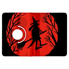 Halloween witch - red moon Kindle Fire HDX Flip 360 Case