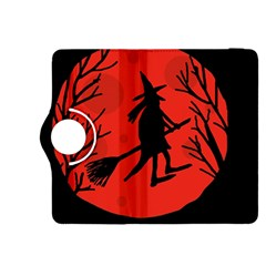 Halloween witch - red moon Kindle Fire HDX 8.9  Flip 360 Case