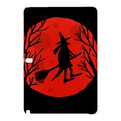 Halloween witch - red moon Samsung Galaxy Tab Pro 10.1 Hardshell Case