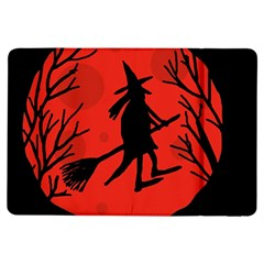 Halloween witch - red moon iPad Air Flip