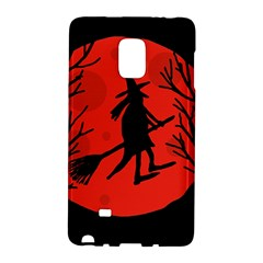 Halloween witch - red moon Galaxy Note Edge