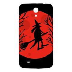 Halloween witch - red moon Samsung Galaxy Mega I9200 Hardshell Back Case