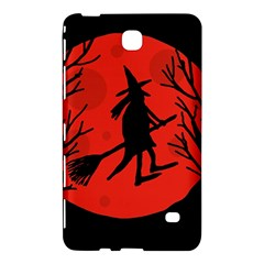 Halloween witch - red moon Samsung Galaxy Tab 4 (8 ) Hardshell Case