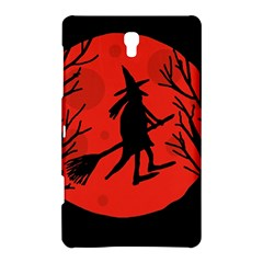Halloween witch - red moon Samsung Galaxy Tab S (8.4 ) Hardshell Case