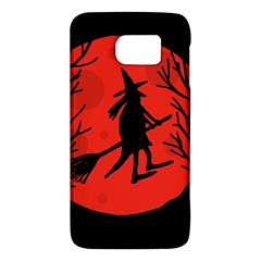Halloween witch - red moon Galaxy S6