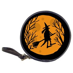 Halloween witch - orange moon Classic 20-CD Wallets