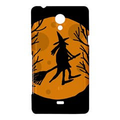 Halloween witch - orange moon Sony Xperia T