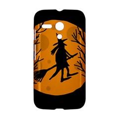 Halloween witch - orange moon Motorola Moto G
