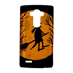 Halloween witch - orange moon LG G4 Hardshell Case