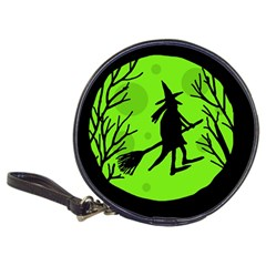 Halloween witch - green moon Classic 20-CD Wallets