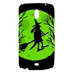 Halloween witch - green moon Samsung Galaxy Nexus i9250 Hardshell Case