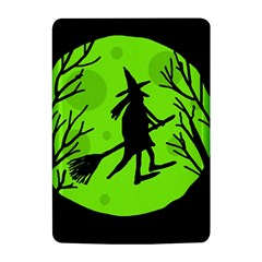 Halloween witch - green moon Kindle 4