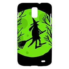 Halloween witch - green moon Samsung Galaxy S II Skyrocket Hardshell Case