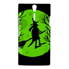 Halloween witch - green moon Sony Xperia S