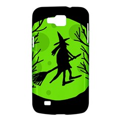 Halloween witch - green moon Samsung Galaxy Premier I9260 Hardshell Case
