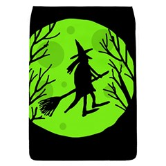 Halloween witch - green moon Flap Covers (S)