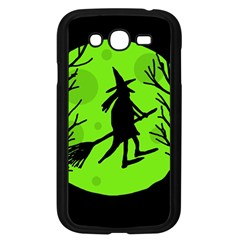 Halloween witch - green moon Samsung Galaxy Grand DUOS I9082 Case (Black)