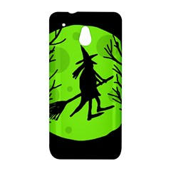 Halloween witch - green moon HTC One Mini (601e) M4 Hardshell Case