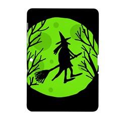 Halloween witch - green moon Samsung Galaxy Tab 2 (10.1 ) P5100 Hardshell Case