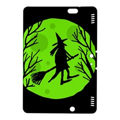 Halloween witch - green moon Kindle Fire HDX 8.9  Hardshell Case