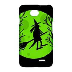 Halloween witch - green moon LG Optimus L70