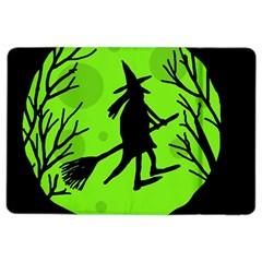 Halloween witch - green moon iPad Air 2 Flip