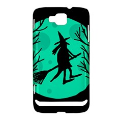 Halloween witch - cyan moon Samsung Ativ S i8750 Hardshell Case