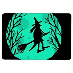Halloween witch - cyan moon iPad Air 2 Flip