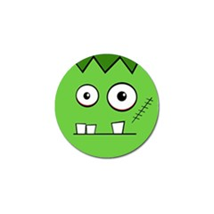Halloween Frankenstein - green Golf Ball Marker (4 pack)