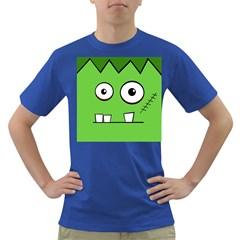 Halloween Frankenstein - green Dark T-Shirt