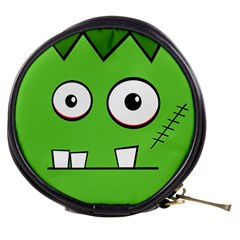Halloween Frankenstein - green Mini Makeup Bags