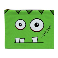 Halloween Frankenstein - green Cosmetic Bag (XL)