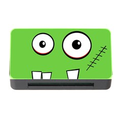 Halloween Frankenstein - green Memory Card Reader with CF