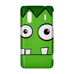 Halloween Frankenstein - green HTC Evo Design 4G/ Hero S Hardshell Case