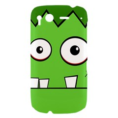 Halloween Frankenstein - green HTC Desire S Hardshell Case